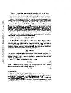 Regularization matrices for discrete ill-posed problems in several ...