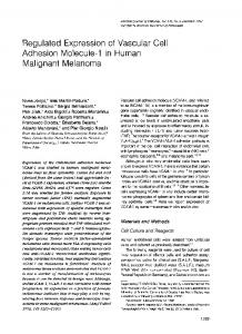 Regulated Expression of Vascular Cell - Europe PMC