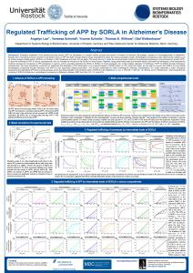 Regulated Trafficking of APP by SORLA in ...