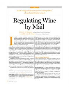 Regulating Wine by Mail - SSRN papers