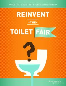 Reinvent the Toilet Fair Program