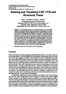 Relating and Visualising CSP, VCR and Structural ... - Semantic Scholar