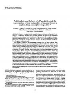 Relation between the level of self-mutilation and the ... - SciELO