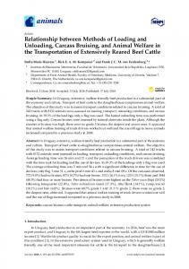 Relationship between Methods of Loading and Unloading ... - MDPI