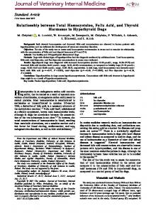 Relationship between Total Homocysteine, Folic ... - Wiley Online Library