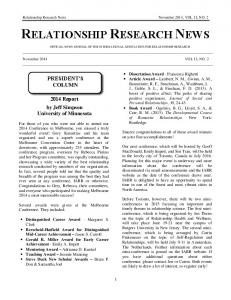 relationship research news