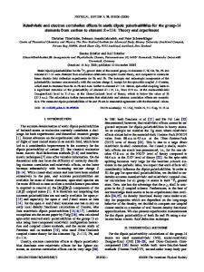 Relativistic and electron correlation effects in static dipole ...