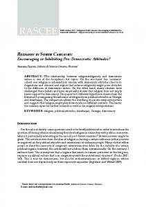 Religion in South Caucasus - Religion and Society in Central and ...