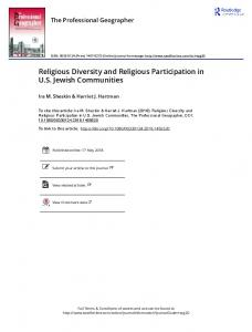 Religious Diversity and Religious Participation in US