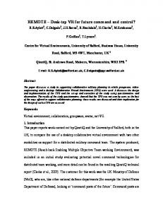 REMOTE - Mathematical and Computer Sciences