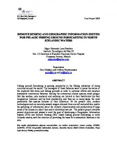 Remote sensing and geographic information system for pelagic fishing ...