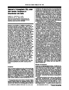Removal of Atmospheric CCl4 under Bulk Aerobic Conditions in ...