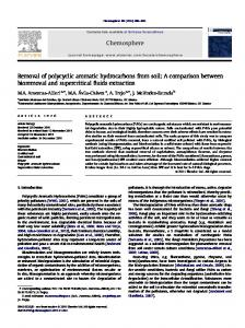 Removal of polycyclic aromatic hydrocarbons from soil: A comparison ...