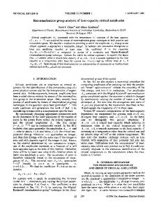 Renormalization-group analysis of heat-capacity ... - APS Link Manager