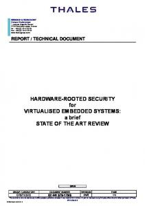 report / technical document