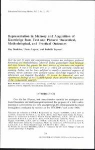 Representation in memory and acquisition of ...