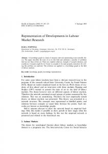 Representation of Developments in Labour Market ... - CiteSeerX
