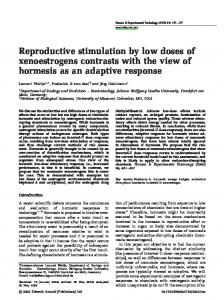 Reproductive stimulation by low doses of ... - Semantic Scholar