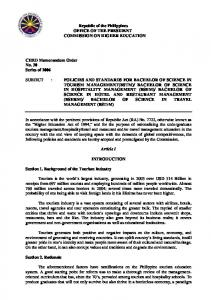 Republic of the Philippines - Commission on Higher Education
