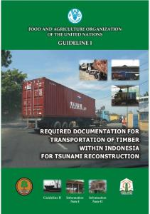 Required documentation for timber transportation