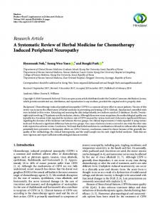 Research Article A Systematic Review of Herbal