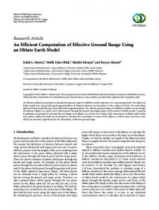 Research Article An Efficient Computation of Effective