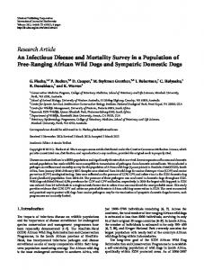 Research Article An Infectious Disease and ...