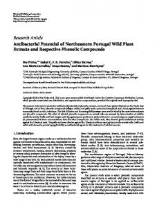 Research Article Antibacterial Potential of ... - BioMedSearch