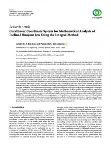Research Article Curvilinear Coordinate System for ...www.researchgate.net › publication › fulltext › Curvilinea