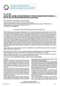 Research Article DECISION TREE LEARNING ... - BioInfo Publication