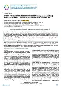 Research Article EFFECT OF POTASSIUM ... - BioInfo Publication
