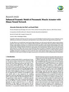 Research Article Enhanced Dynamic Model of ...