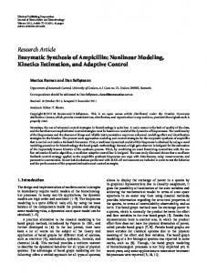Research Article Enzymatic Synthesis of Ampicillin ... - ScienceOpen