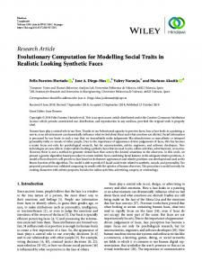 Research Article Evolutionary Computation for