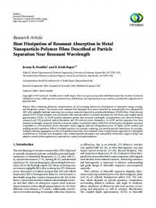 Research Article Heat Dissipation of Resonant Absorption in ...www.researchgate.net › publication › fulltext › Heat-Dissi