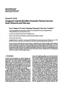 Research Article Integrated Analysis Identifies ...