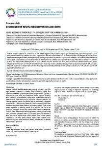 Research Article MEASUREMENT OF ... - BioInfo Publication