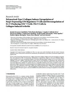 Research Article Polymerized-Type I Collagen ... - BioMedSearch