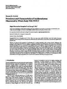 Research Article Prevalence and Characteristics of ... - ScienceOpen