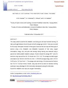 Research Article Special Issue