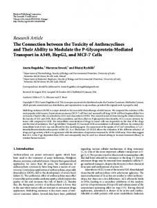 Research Article The Connection between the ... - BioMedSearch