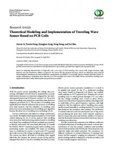 Research Article Theoretical Modeling and
