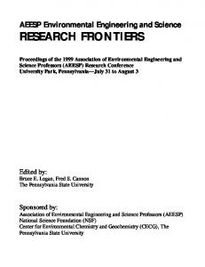research frontiers - Penn State Engineering