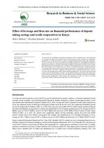 Research in Business & Social Science www.researchgate.net › publication › fulltext › Effect-of-l