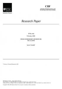 Research Paper - IESE Business School