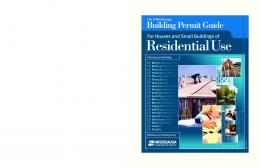 Residential Building Permit Guide - April 2007 - City of Mississauga