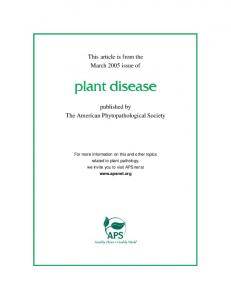 Resistance to leaf rust, stripe rust, and stem rust in ... - USDA ARS