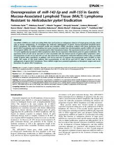 Resistant to Helicobacter pylori Eradication - PLOS