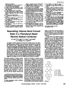 Resonating Valence-Bond Ground State in a ... - Semantic Scholar