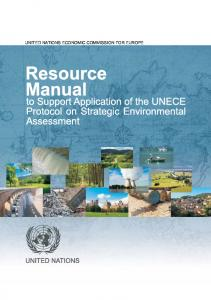 Resource Manual to Support Application of the Protocol on ... - unece